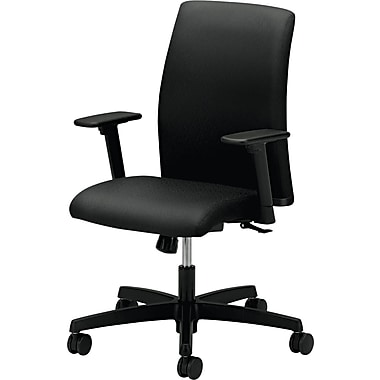 HON ® Ignition Low-Back Fabric Task Chair, Black