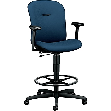 HON ® Mirus Ergonomic Fabric Task Stool, Blue