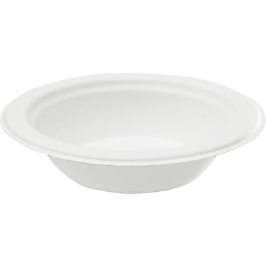 NatureHouse® Sugarcane Bowl, 16 oz., White