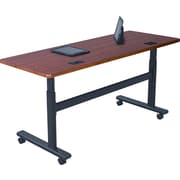 Balt 60 Rectangular Flipper Training Table, Cherry