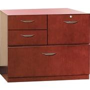 Mayline® Mira 19D 4 Drawer Veneer Multipurpose Storage Unit, Medium Cherry