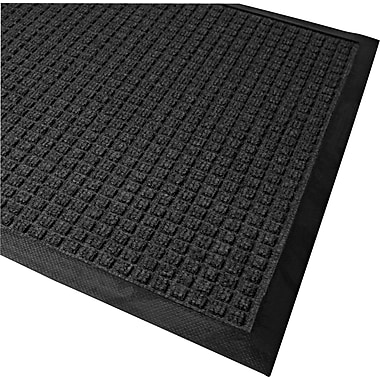 Guardian WaterGuard Polypropylene Indoor/Outdoor Scraper Mat, 60in.L x 36in.W, Charcoal