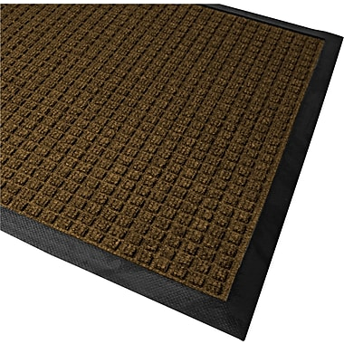 Guardian WaterGuard Polypropylene Indoor/Outdoor Scraper Mat, 72in.L x 48in.W, Brown