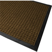 "Guardian WaterGuard Polypropylene Indoor/Outdoor Scraper Mat, 72""L x 48""W, Brown"