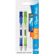 Paper Mate® Clear Point Mechanical Pencil, HB-Soft, 0.9 mm (Dia), Black Barrel, 2/Set