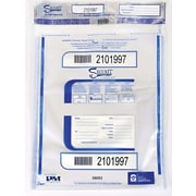 """PM Company® Securit® Triple Protection Tamper-Evident Deposit Bags, 20"""" x 20"""", Clear (58053)"""