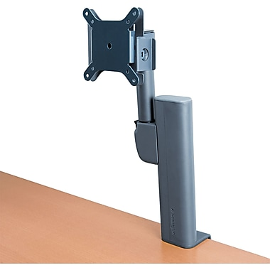 Kensington® Column Mount Monitor Arm, Black, 15 - 17in. Monitor, 20 lbs.