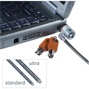 Kensington® MicroSaver® Keyed Ultra Laptop Lock, 2 Keys, Each (K67723US)