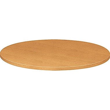 HON® 10500 Series Round Table Top, 42in.(Dia) x 1 1/8in.T, Harvest