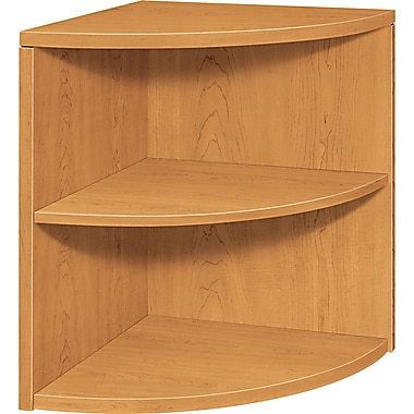 HON® 2-Shelf 10500 Series Laminated Bookcase, Harvest