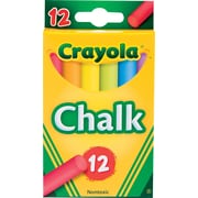 Crayola® 510816 Stick Chalk, Assorted