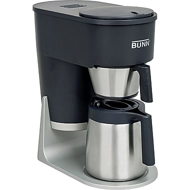 Bunn® Velocity Brew™ STX 10 Cup Coffee Brewer, Stainless Steel, Graphite Black