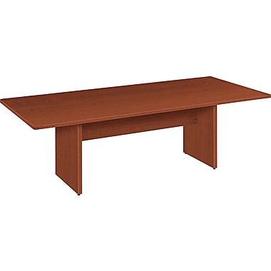 basyx® by Hon BL Laminate 29 1/2in.H x 96in.W x 48in.D Rectangular Conference Table, Medium Cherry