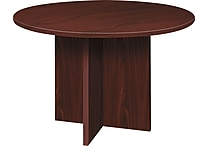 basyx by Hon BL Laminate 29 1/2'H x 48'(Dia) Round Conference Table, Mahogany