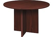 basyx by Hon BL Laminate 29 1/2'H x 48'(Dia) Round Conference Table, Mahogany