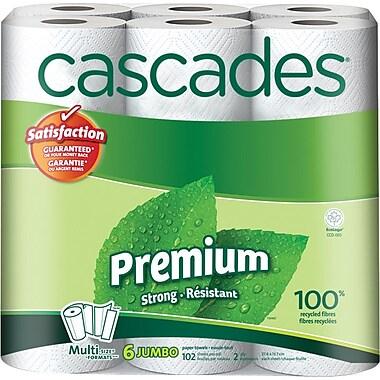 Cascades Multi-Size-Formats Paper Towel