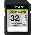 PNY Pro-Elite 32GB SD (SDHC) Class 10 Flash Memory Card
