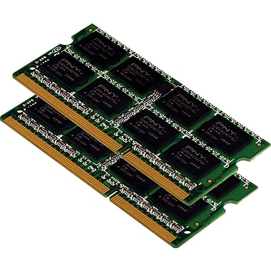 PNY 8GB (2 x 4GB) DDR3 (204-Pin SDRAM) DDR3 1333 (PC3 10666) Universal Laptop Memory