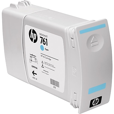 HP 761 Cyan Ink Cartridge (CM994A)