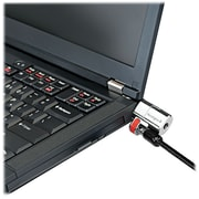 Kensington ® ClickSafe ® Keyed Laptop Lock, Black, Two Keys, 5' Cable