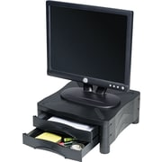 "Kelly Computer Supplies 10369 Stand With 2 Drawers for 20"" Monitor, Black"