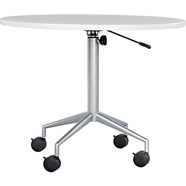 Safco® RSVP Table Top, Gray, 36in.(Dia) x 1in.T