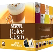 Nescafe® Dolce Gusto® Coffee Capsules, Latte Macchiato, 2.01 oz., 16/Box