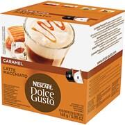 Nescafe® Dolce Gusto® Coffee Capsules, Caramel Latte Macchiato, 1.93 oz., 16/Box