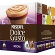 Nescafe Dolce Gusto Coffee Capsules, Mocha, 2.23 oz., 16/Box