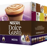 Nescafe® Dolce Gusto® Coffee Capsules, Mocha, 2.23 oz., 16/Box