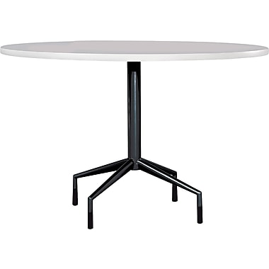 Safco® RSVP Series Standard Fixed-Height Table Base, Black