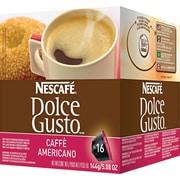 Nescafe® Dolce Gusto® Coffee Capsules, Caffe Americano, 1.86 oz., 16/Box