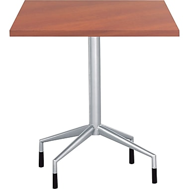 Safco® RSVP Series Standard Fixed-Height Table Base, Silver