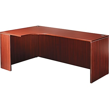 Credenza With Left Corner Extension, 29 1/2in.H x 71in.W x 41 3/8in.D