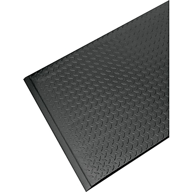 Guardian Soft Step Supreme Vinyl Anti-Fatigue Floor Mat, 36in.L x 24in.W, Black