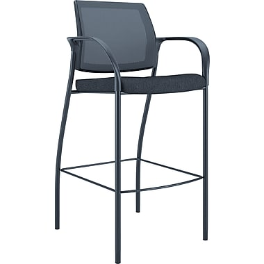 HON Ignition Bar Height Cafe Stool, Black