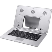 The Sharper Image Notebook Cooling Stand with Keyboard