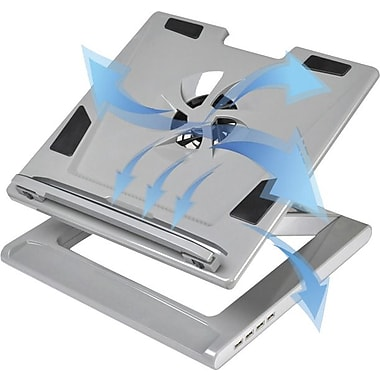 The Sharper Image Cooling and Collapsible Notebook Stand