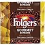 Folgers Gourmet Supreme Ground Coffee Packets, Regular, 1.75