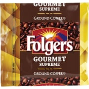 Folgers® Gourmet Supreme® Ground Coffee Packets, Regular, 1.75 oz., 42 Packets