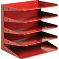 Soho Collection 5-Tier Organizer, Red
