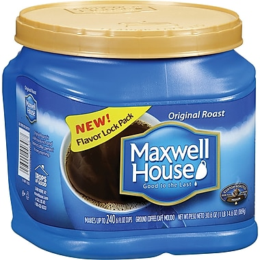 Maxwell House® Ground Coffee Cans