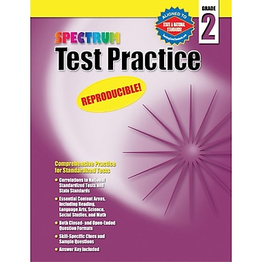 Spectrum Test Practice Workbook, Grade 2