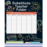 Instructional Fair Elementary Substitute Teacher Absent Folder, Grades K - 6