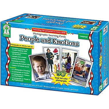 Key Education People and Emotions Learning Cards