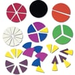 Ideal School Supply Deluxe Fraction Circles Manipulative