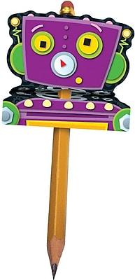 Carson Dellosa Robot Pencil Toppers