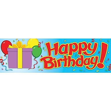 Carson-Dellosa Birthday Bookmarks, (30) 2in. x 6.5in. Single-Design Bookmarks