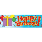 "Carson-Dellosa Birthday Bookmarks, (30) 2"" x 6.5"" Single-Design Bookmarks"