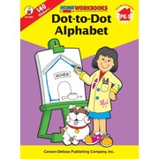 Carson-Dellosa Dot-To-Dot Alphabet Workbook